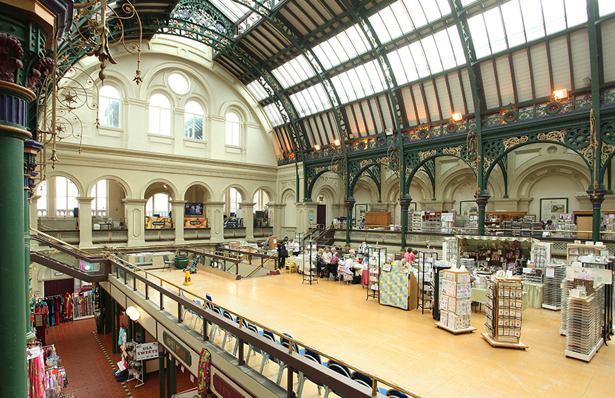 Corn Exchange market