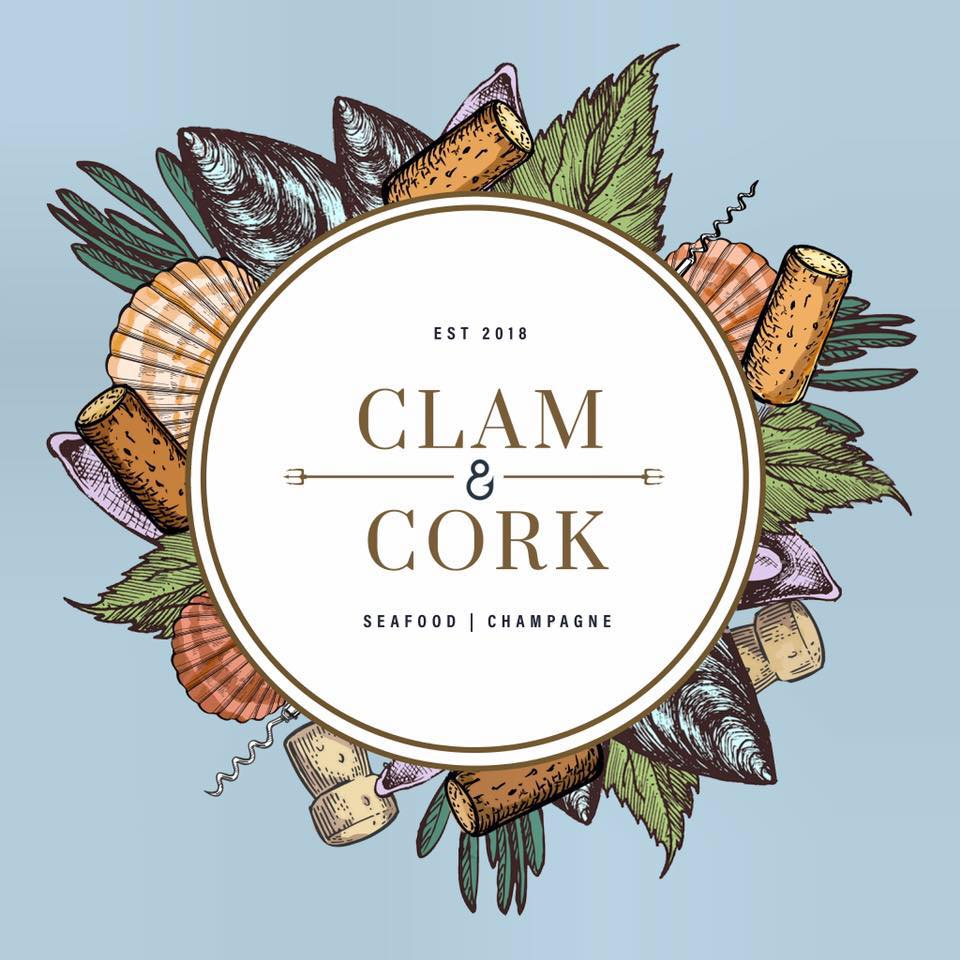 Clam and Cork logo