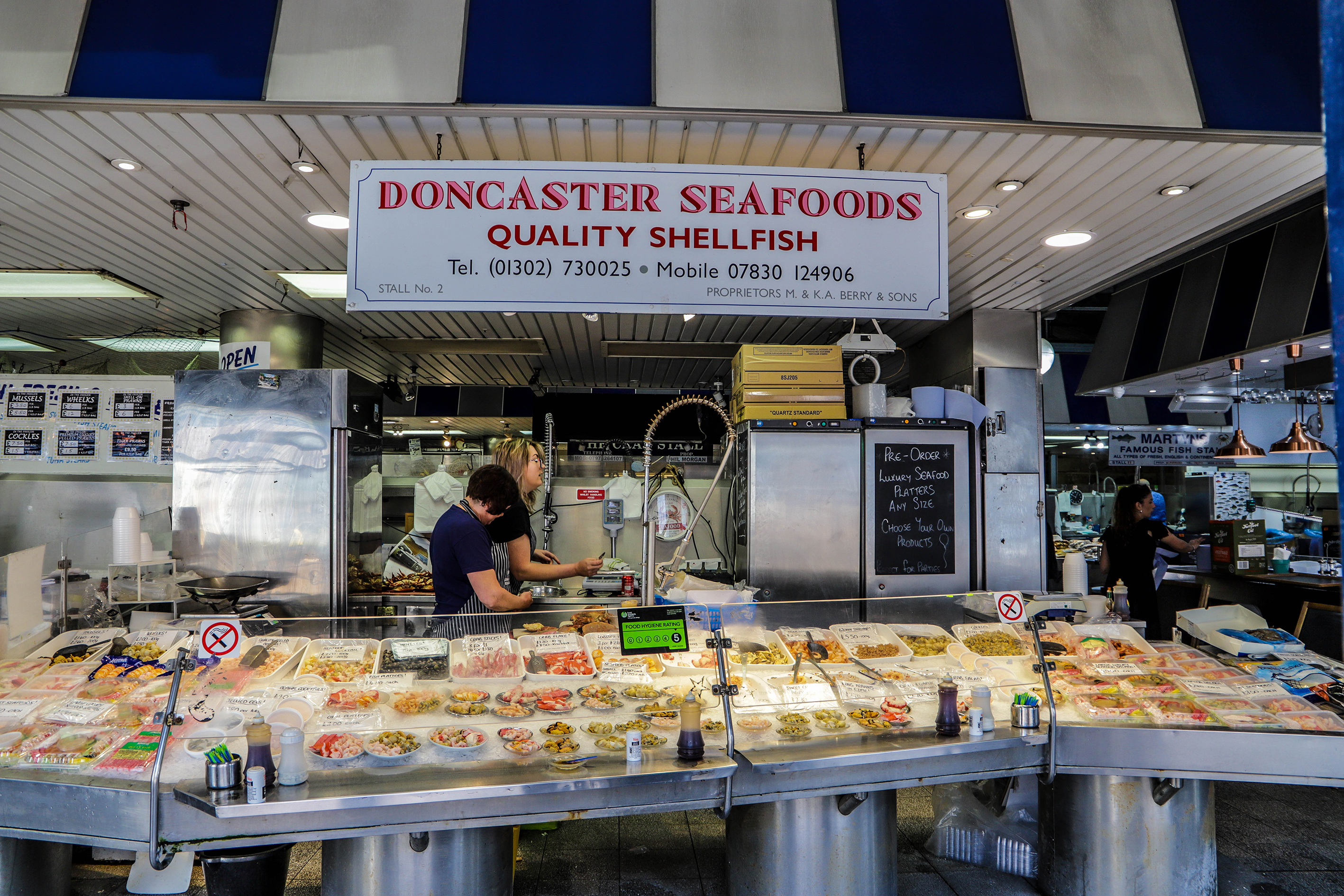 Doncaster seafoods