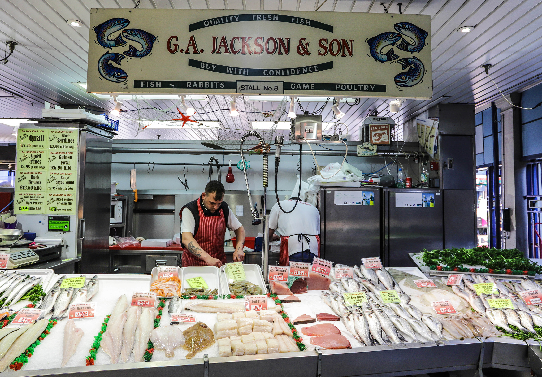 G A Jackson fish