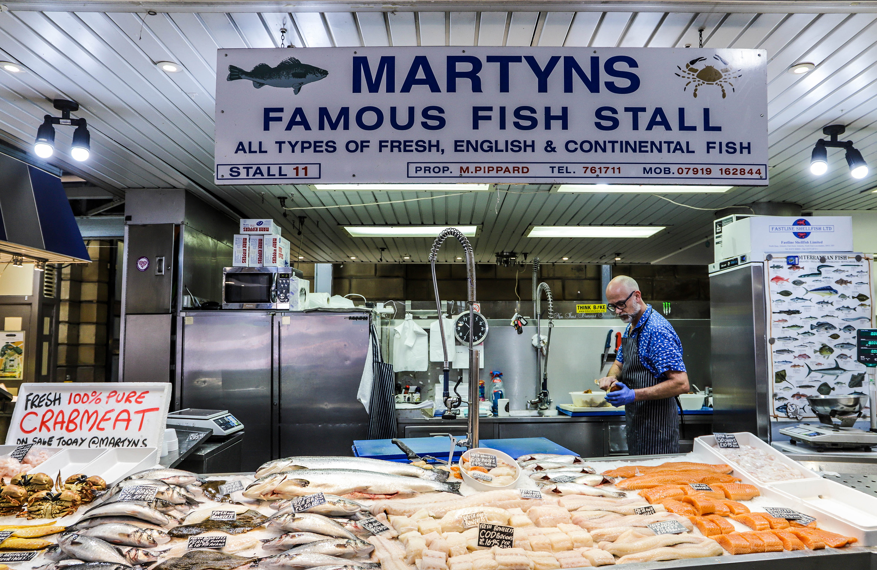 Martyns favourite fish stall