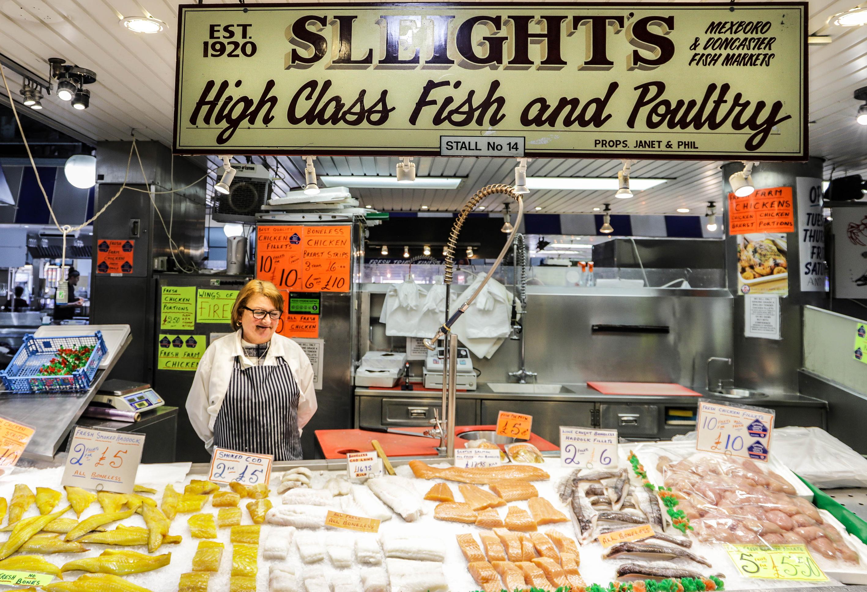 Sleights fish market