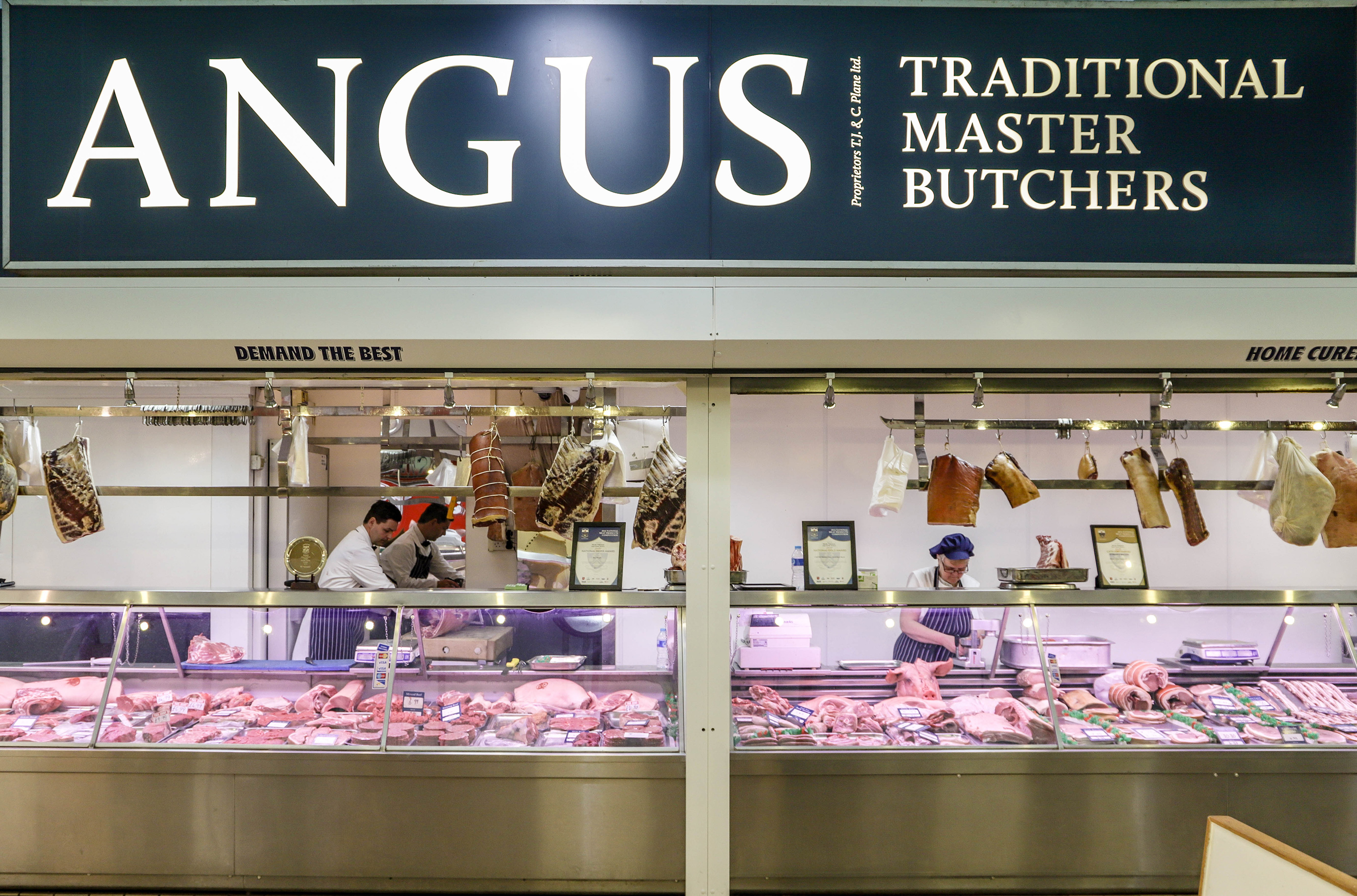 Angus butchers