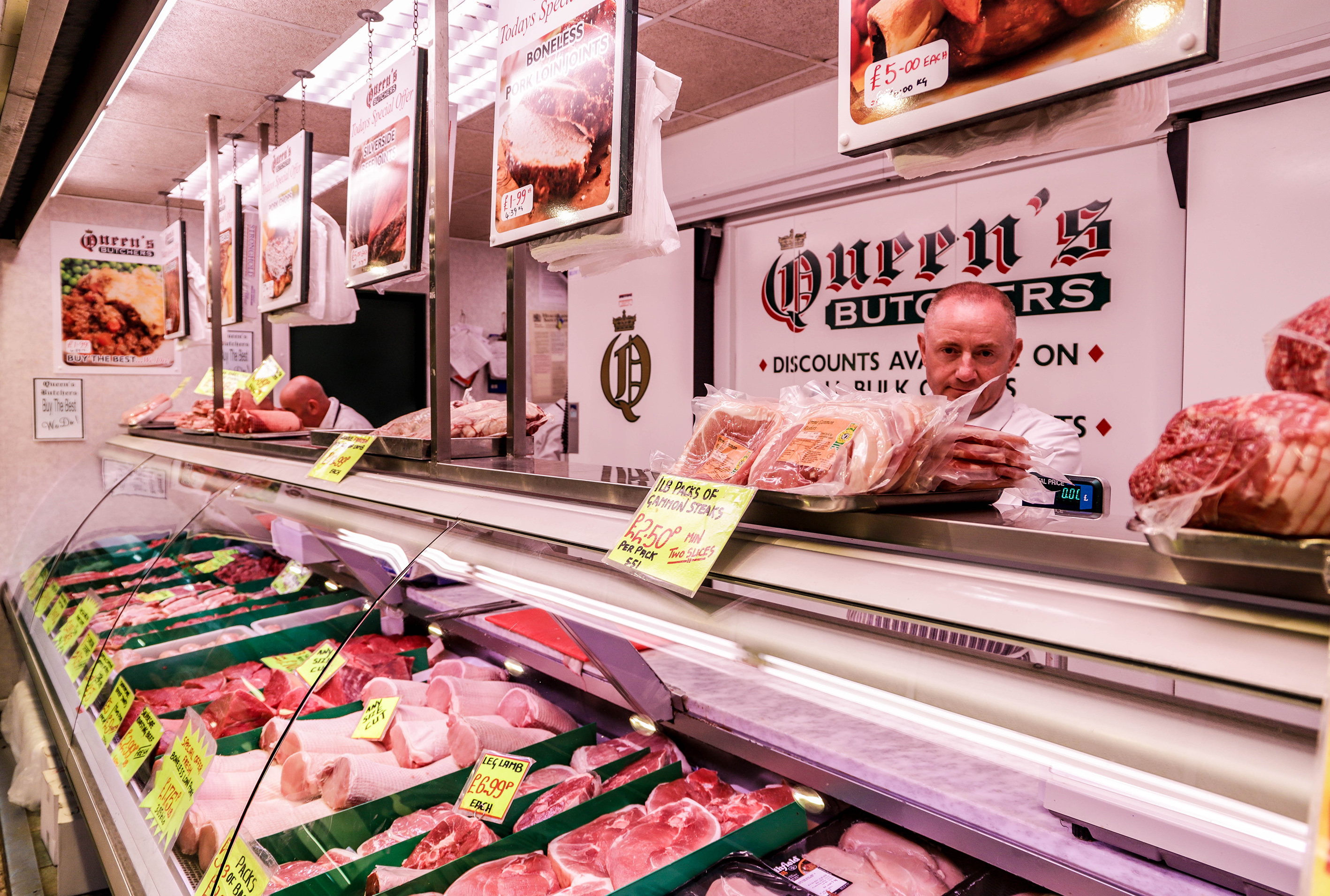 Queens butchers