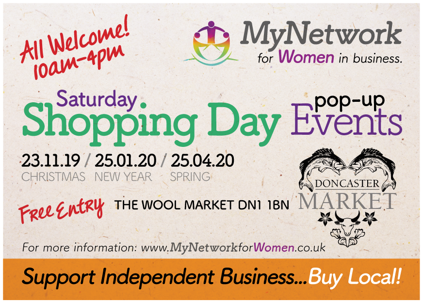 Saturday Shopping pop up event