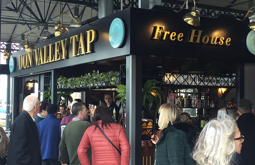 Don Valley Tap, Wool Market